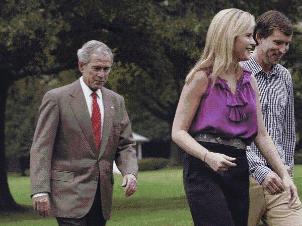 BUSH'S DAUGHTERS are NOT REPUBLICAN