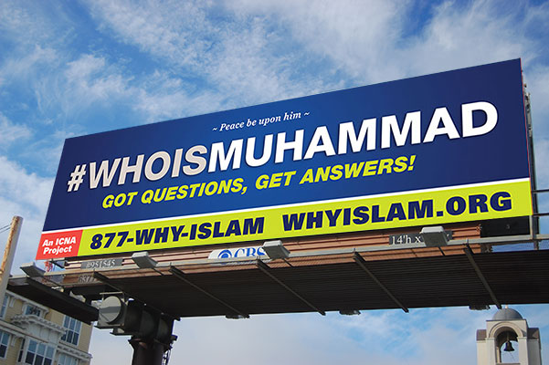 ICNA Launches Historic National Billboard Campaign