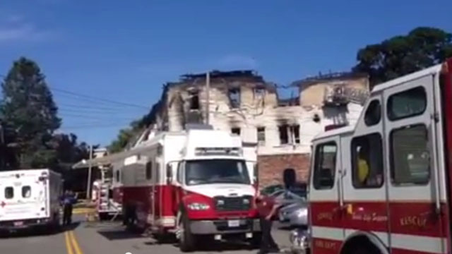 7 killed in Lowell apartment house fire