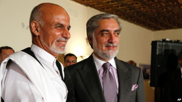 US: Afghan Election Loser Will Play Role in Government