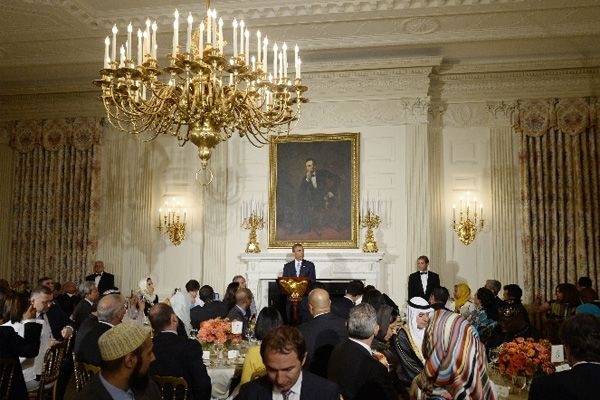 Obama Beyaz Saray'da iftar verdi